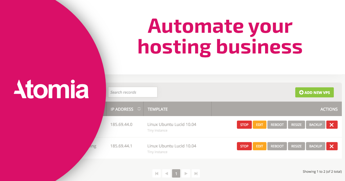 A simple way to consume the Atomia DNS web service using  Net