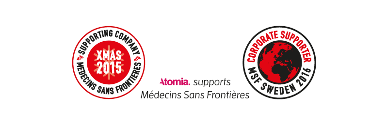 Atomia Supports Doctors Without Borders